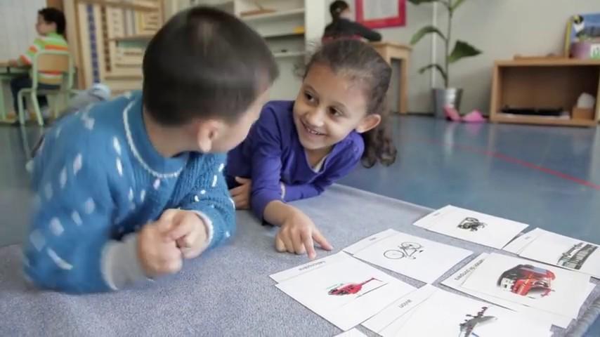 Classe maternelle, Gennevilliers-web